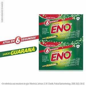 SAL DE FRUTA ENO SABOR GUARANÁ 2 ENVELOPES DE 5G