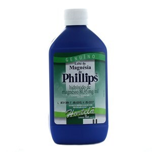 LEITE DE MAGNÉSIA PHILLIPS HORTELÃ 350ML