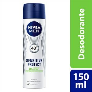 DESODORANTE AEROSOL NIVEA MASCULINO SENSITIVE PROTECT 150ML