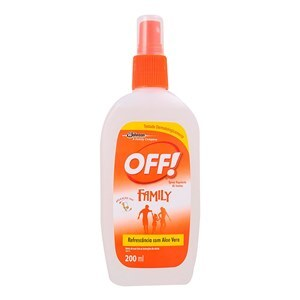 REPELENTE OFF FAMILY REFRESCÂNCIA SPRAY 200ML