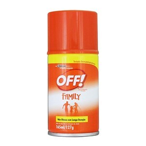 REPELENTE OFF FAMILY AEROSSOL 165ML