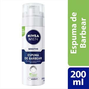 ESPUMA DE BARBEAR NIVEA MEN SENSITIVE 193G