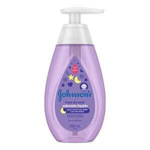 SABONETE LÍQUIDO INFANTIL JOHNSON'S BABY HORA DO SONO 200ML