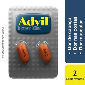 ADVIL 200MG 2 COMPRIMIDOS