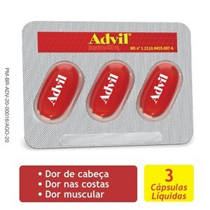 ADVIL 400MG 3 CÁPSULAS