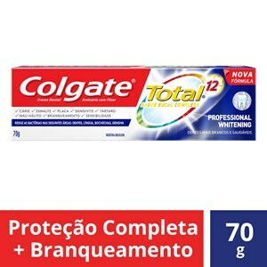 CREME DENTAL COLGATE TOTAL 12 PROFESSIONAL WHITENING 70G