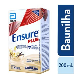 ENSURE PLUS SABOR BAUNILHA 200ML