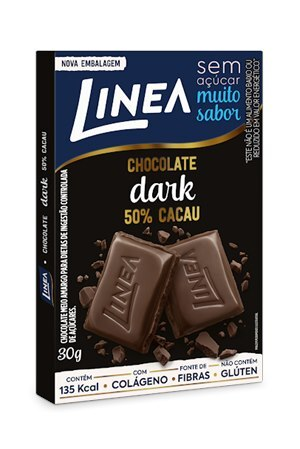 CHOCOLATE DARK LINEA ZERO AÇUCAR 30G