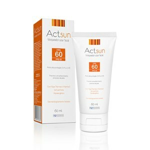 PROTETOR SOLAR FACIAL ACTSUN FPS60 60ML