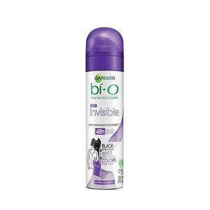 DESODORANTE AEROSOL BI-O FEMININO INVISIBLE BLACK WHITE COLORS 150ML