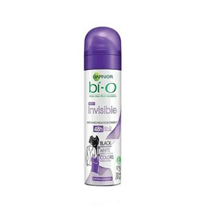 DESODORANTE AEROSSOL BI-O FEMININO INVISIBLE BLACK WHITE COLORS 150ML
