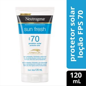 PROTETOR SOLAR NEUTROGENA SUN FRESH FPS70 120ML