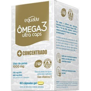 ÔMEGA 3 ULTRACAPS EQUALIV 60 CÁPSULAS