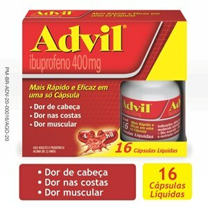 ADVIL 400MG 16 CÁPSULAS