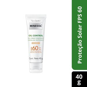 PROTETOR SOLAR NEOSTRATA MINESOL OIL CONTROL TINTED GEL CREME UNIVERSAL FPS60 40G