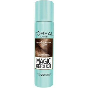 RETOQUE DE RAIZ L'ORÉAL PARIS MAGIC RETOUCH CASTANHO CLARO 75ML