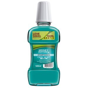 ANTISSÉPTICO BUCAL COOL MINT LEVE 500ML PAGUE 350ML SIDNEY OLIVEIRA