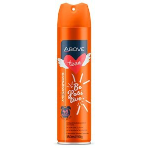 DESODORANTE AEROSOL ABOVE TEEN BE POSITIVE 150ML