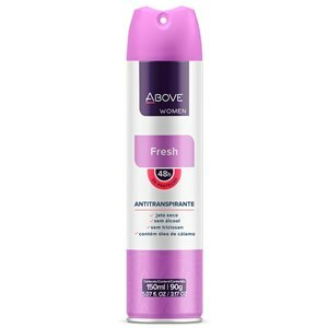 DESODORANTE AEROSSOL ABOVE FRESH FEMININO 150ML